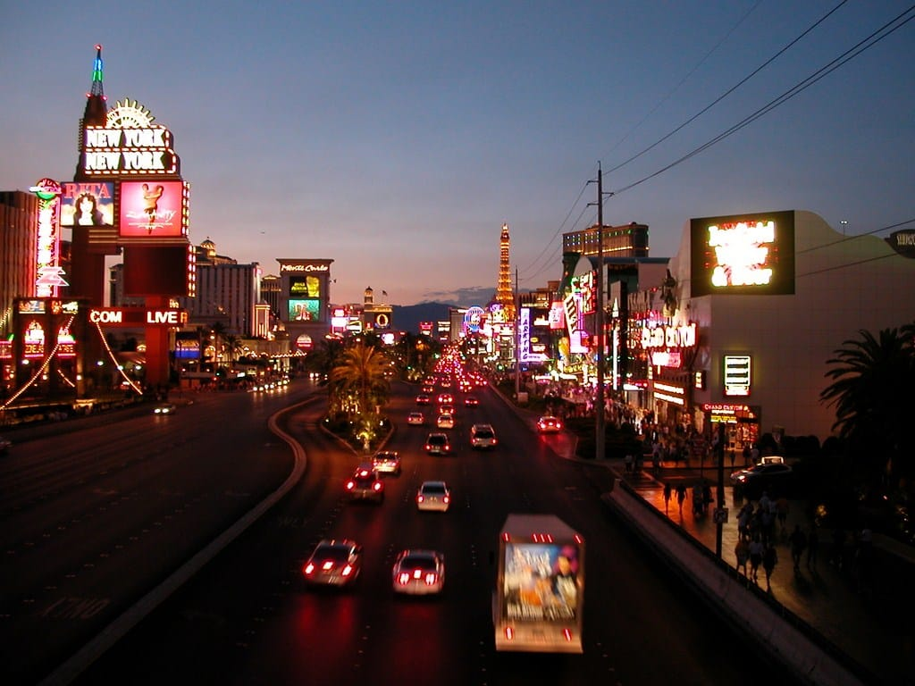 The Strip, Las Vegas (foto: Joakim Syversen)