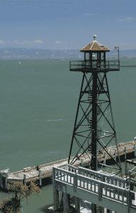 Alcatraz vagttårn (foto: Colin Eaton)