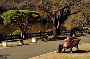 Afslapning i Central Park